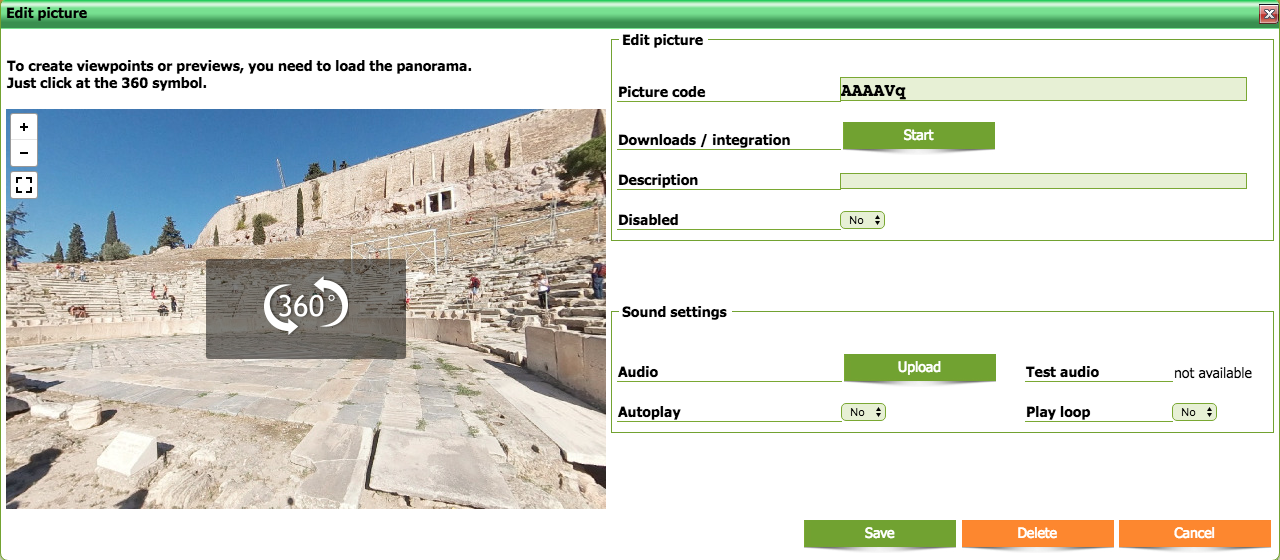 VRM360pro Anleitung für den Virtual Reality Manager