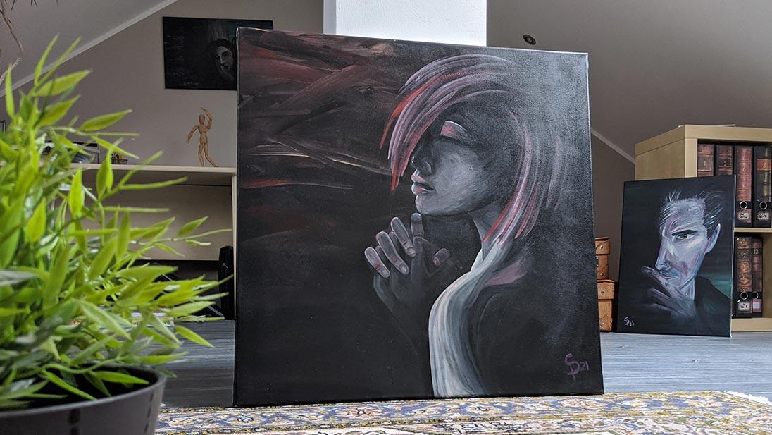 Acryl Gemälde zu verkaufen