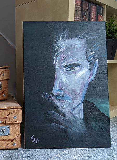 Acryl Gemälde zu kaufen, Thought